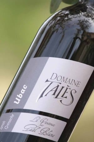 Organic wine Domaine Tales in Entrechaux